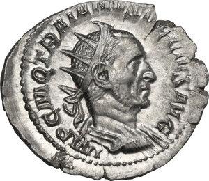 obverse: Trajan Decius (249-251).. AR Antoninianus