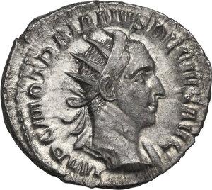 obverse: Trajan Decius (249-251).. AR Antoninianus, Antioch mint