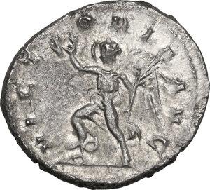 reverse: Trajan Decius (249-251).. AR Antoninianus, Antioch mint