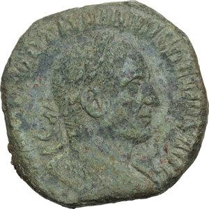 obverse: Trajan Decius (249-251).. AE Sestertius, 249-250 AD
