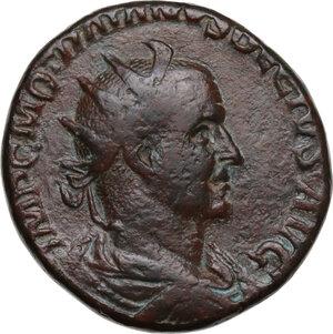 obverse: Trajan Decius (249-251).. AE Double Sestertius
