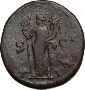 reverse: Trajan Decius (249-251).. AE Double Sestertius