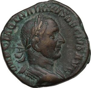 obverse: Trajan Decius (249-251).. AE Sestertius