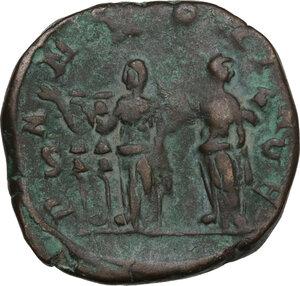 reverse: Trajan Decius (249-251).. AE Sestertius