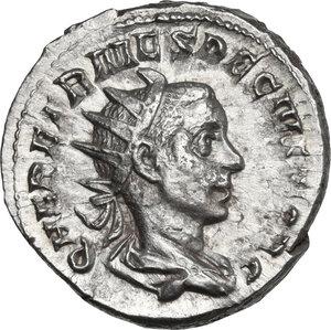 obverse: Herennius Etruscus as Caesar (249-251).. AR Antoninianus, 250-251