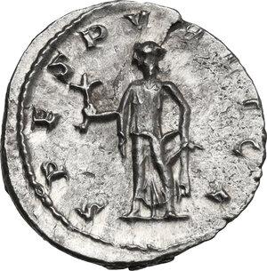reverse: Herennius Etruscus as Caesar (249-251).. AR Antoninianus, 250-251