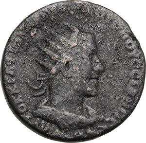obverse: Volusian (251-253).. AE 8 Assaria. Antioch mint (Seleucis and Pieria), 251 AD