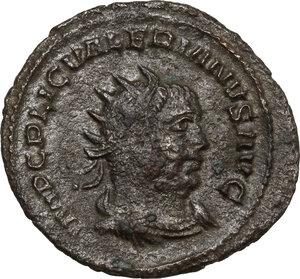 obverse: Valerian I (253-260).. BI Antoninianus, 255-256, Antioch mint