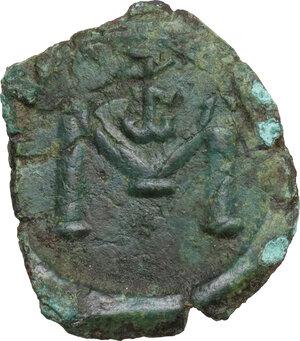 reverse: Constans II (641-668).. AE Follis, 643-647, Syracuse mint