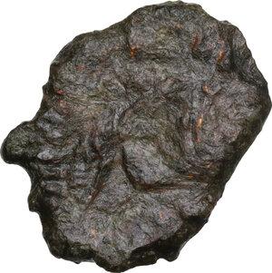 obverse: Theophilus (829-842).. AE Follis, Syracuse mint