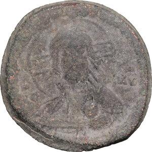 obverse: Romanus IV (1068-1071).. AE Follis, 1068-1071