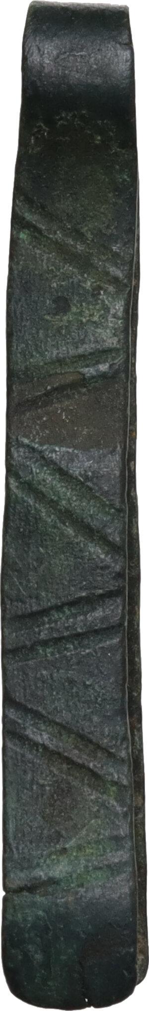 obverse: Bronze tweezers  Roman period, 1st - 3rd century AD.  42 mm