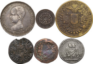 obverse: Miscellaneous. Multiple lot of six (6) AR/AE/PB items