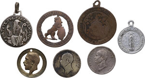 obverse: Miscellaneous. Multiple lot of seven (7) various items
