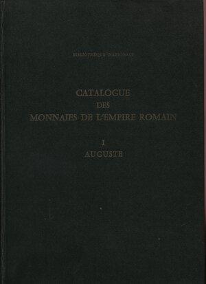 obverse: GIARD J-B. – Catalogue des mannaie de l'empire romain  I. Auguste. Paris, 1988. Pp. 258, tavv. 72. Ril. editoriale, buono stato, ottima documentazione.