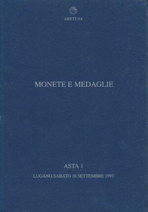obverse: Aretusa Asta n.1 Monete e medaglie 18.set.1993