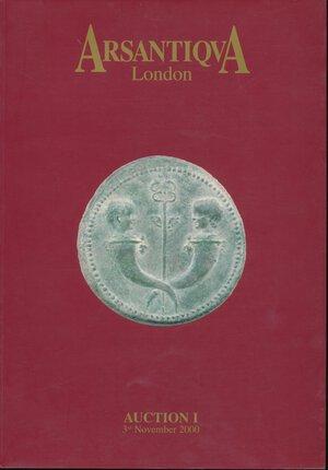 obverse:  ArsAntiqua n.1 2000. London.