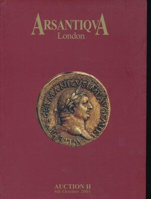 obverse: ArsAntiqua n.2 2001. London