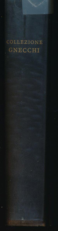 obverse: Hamburger L. - Collezione Gnecchi - Lotti 5849 - Francoforte sul Meno 1901 Ristampa Nummorum Auctiones S.A. 1976. Monete italiane con liste dei prezzi di aggiudicazione e elenco nominativo degli acquirenti italiani. Ristampa in facsimile del rarissimo catalogo della più importante collezione privata di monete italiane che mai sia stata venduta all incanto, quella del Cav. Ercole GNECCHI di Milano nel 1901.  Il catalogo è composto di 3 parti ed è corredato delle liste dei prezzi di aggiudicazione e dell elenco dei nomi dei collezionisti e commercianti italiani ai quali furono aggiudicate le monete, oltre che delle tavole. Volume stampato in 250 esemplari contrassegnati dai numeri arabi da 1 a 250 da Luigi Maestri su carta usomano velin appositamente fabbricata dalla Cartiera Ventura di Cernobbio. Edizione di 250 esemplari RR.  Copia n. 15/250. Ottimo come Nuovo.