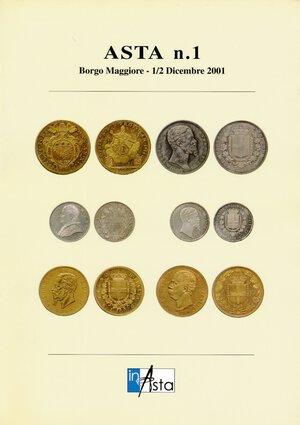 obverse: InAsta n. 1 2001. Nuovo.