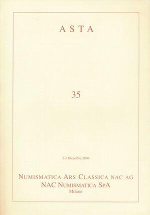 obverse: NAC Numismatica Ars Classica n. 35. Importante serie di monete di zecche italiane. Nuovo.