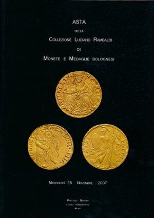 obverse: Negrini - Asta n. 25 2007.  Asta della collezione Luciano Rambaldi di monete e medaglie bolognesi.  Importantissimo. Nuovo. Con prezzi aggiudicazione