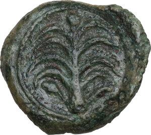 reverse: Motya. AE Onkia, c. 400-397 BC