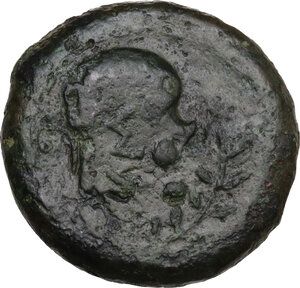 reverse: Mytistraton. AE Hemilitron, c. 344-336 BC