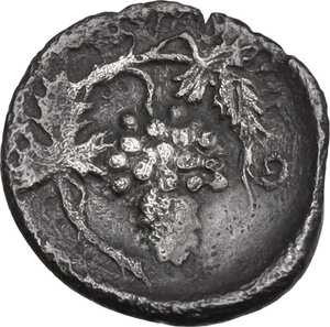 reverse: Naxos. AR Litra, c. 415-403 BC