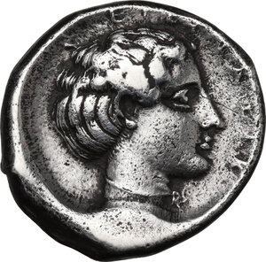 reverse: Segesta. AR Didrachm, 412-400 BC