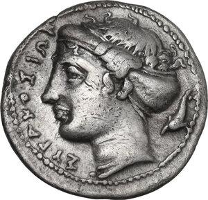 obverse: Syracuse. Dionysos I (405-367 BC). AR Litra, c. 405-395 BC