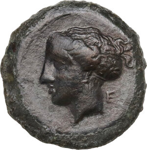 obverse: Syracuse. Dionysos I (405-367 BC). AE Hemilitron, c. 405-375 BC