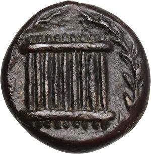 reverse: Syracuse. Third Democracy (c. 336-317 BC). AE Hemilitron