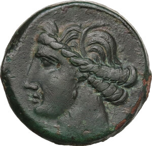 obverse: Time of the First Punic War (c. 264-260 BC). AE 27.5 mm. c.264-241 BC