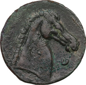 reverse: Time of the First Punic War (c. 264-260 BC). AE 27.5 mm. c.264-241 BC