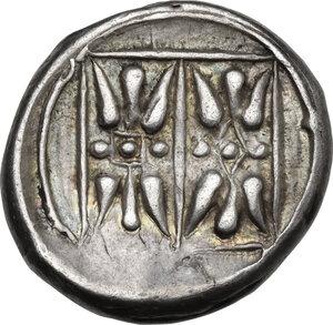 reverse: Corcyra, Corcyra. AR Stater, 433-360 BC