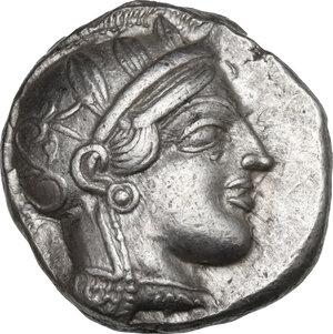 obverse: Attica, Athens. AR Tetradrachm, c. 454-404 BC