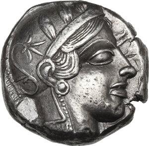 Attica, Athens. AR Tetradrachm, c. 454-404 BC