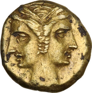 obverse: Central and Southern Campania, Capua. Carthaginian at