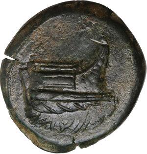 obverse: Mysia, Kyzikos. Symmachy coinage. AE 31 mm. c. 404 or 394 BC