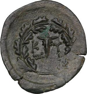 reverse: Mysia, Kyzikos. Symmachy coinage. AE 31 mm. c. 404 or 394 BC