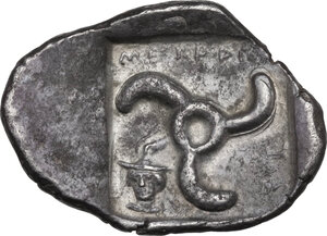 reverse: Dynasts of Lycia. Mithrapata (c. 390-370 BC). AR Stater