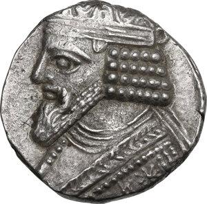 obverse: Kings of Parthia. Gotarzes II (40-51 AD). BI Tetradrachm. Seleukeia on the Tigris mint. Dated 361 SE (AD 49/50). Month off flan