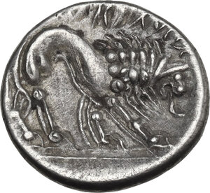 reverse: Cisalpine Gaul, the Veneti. AR Drachm, imitating Massalia, 2nd century BC