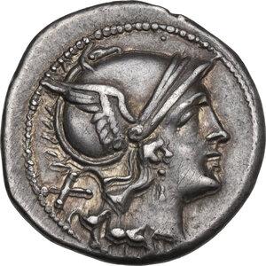 obverse: Anonymous. AR Denarius, c. 210 -209 BC