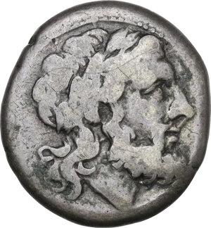 obverse: C/M series. AR Victoriatus, c. 211-208 BC Sicily