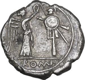 reverse: CROT series. AR Victoriatus, 211-208 BC