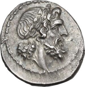 L series. AR Victoriatus, c. 214-212 BC, Luceria mint