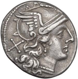 obverse: Trident series. AR Denarius, c. 206-195 BC