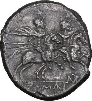reverse: L. Autronius . AR Denarius, c. 189-180 B.C